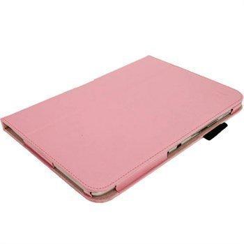 Samsung Galaxy Note 10.1 N8000 iGadgitz Portfolio PU Leather Case Pink