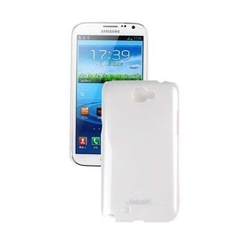 Samsung Galaxy Note 2 N7100 Jekod Shiny Case White