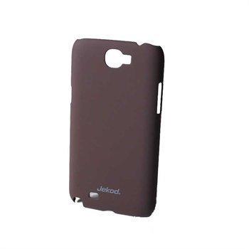 Samsung Galaxy Note 2 N7100 Jekod Super Cool Case Brown