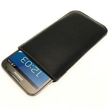 Samsung Galaxy Note 2 N7100 iGadgitz Nahkakotelo Musta