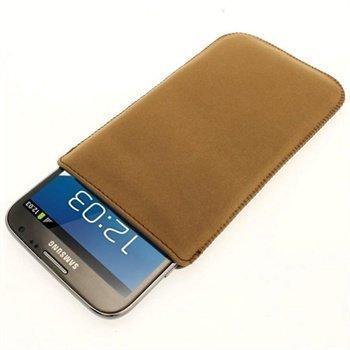 Samsung Galaxy Note 2 N7100 iGadgitz Nahkakotelo Ruskea