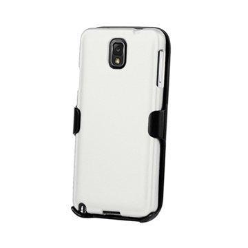 Samsung Galaxy Note 3 N9000 Beyond Cell 3in1 Yhdistelmäkotelo Valkoinen / Musta