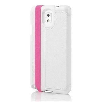 Samsung Galaxy Note 3 N9000 Incipio Watson Case White / Pink