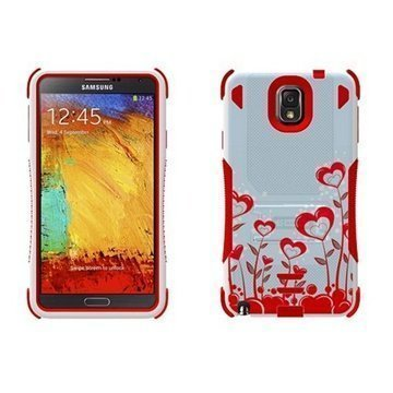 Samsung Galaxy Note 3 N9000 N9005 Beyond Cell Tri Shield Hybrid Case True Heart
