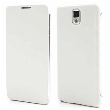 Samsung Galaxy Note 3 N9000 N9005 Folio Leather Case White