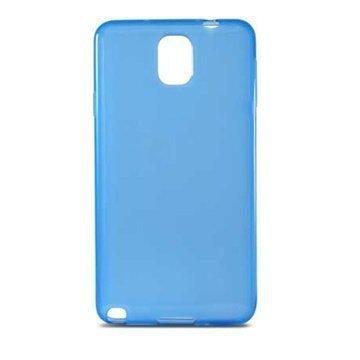 Samsung Galaxy Note 3 N9000 N9005 Ksix Flex TPU-Kotelo Sininen