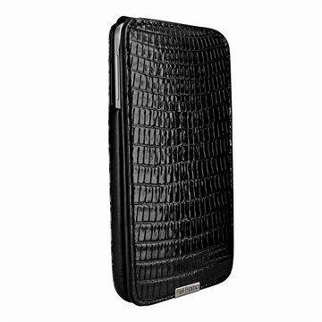 Samsung Galaxy Note 3 N9000 N9005 Piel Frama iMagnum Nahkakotelo Lisko Musta