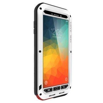 Samsung Galaxy Note 5 Love Mei Powerful Hybrid Suojakuori Hopeinen