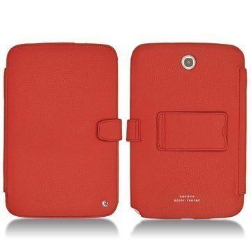Samsung Galaxy Note 8.0 N5100 N5110 Noreve Tradition B Leather Case Tomate