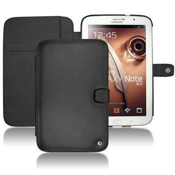Samsung Galaxy Note 8.0 N5100 N5110 Noreve Tradition B Nahkakotelo Musta