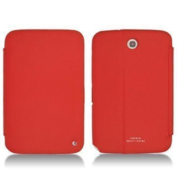 Samsung Galaxy Note 8.0 N5100 N5110 Noreve Tradition Leather Case Tomate