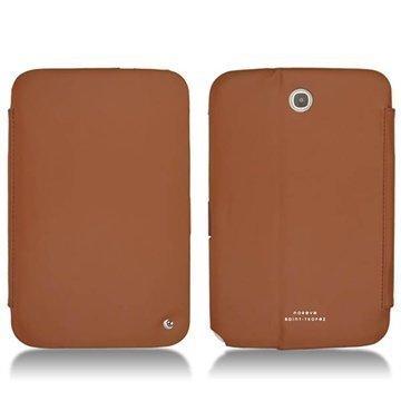 Samsung Galaxy Note 8.0 N5100 N5110 Noreve Tradition Nahkakotelo Ruskea