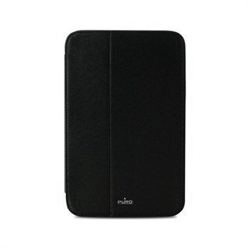 "Samsung Galaxy Note 8.0 N5100 N5110 Puro Booklet Nahkainen Kotelo â"" Musta"