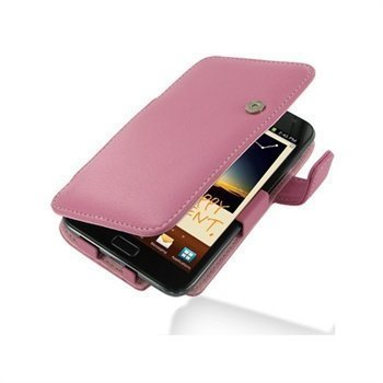 Samsung Galaxy Note N7000 PDair Leather Case 3JSSGNB41 Vaaleanpunainen