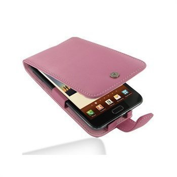 Samsung Galaxy Note N7000 PDair Leather Case 3JSSGNF41 Vaaleanpunainen