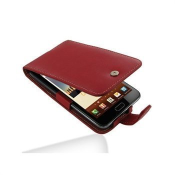 Samsung Galaxy Note N7000 PDair Leather Case 3RSSGNF41 Punainen