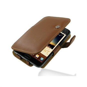 Samsung Galaxy Note N7000 PDair Leather Case 3TSSGNB41 Ruskea
