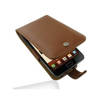 Samsung Galaxy Note N7000 PDair Leather Case 3TSSGNF41 Ruskea