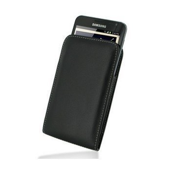 Samsung Galaxy Note PDair Leather Case Black