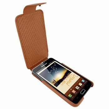 Samsung Galaxy Note Piel Frama iMagnum Nahkakotelo Parkittunahka