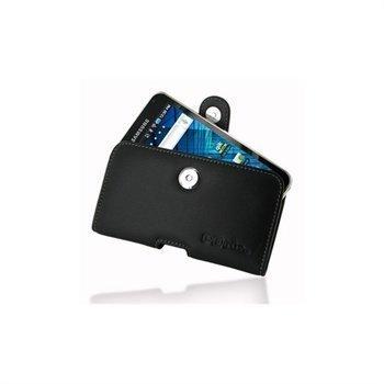 Samsung Galaxy S WiFi 5.0 PDair Horizontal Leather Case Black