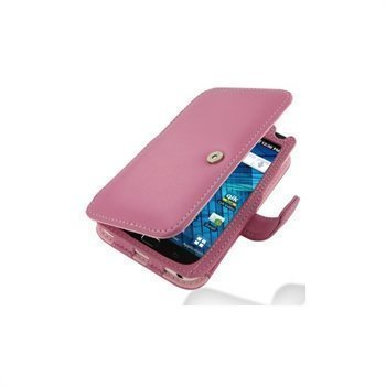 Samsung Galaxy S WiFi 5.0 PDair Leather Case 3JSS5YB41 Vaaleanpunainen