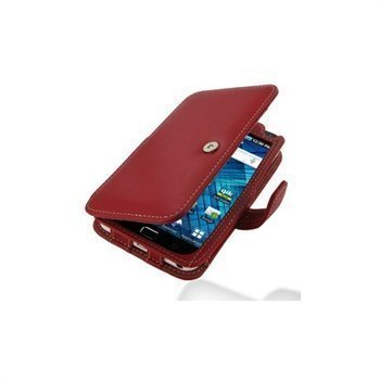 Samsung Galaxy S WiFi 5.0 PDair Leather Case 3RSS5YB41 Punainen