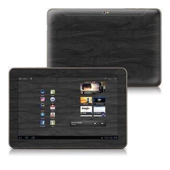 Samsung Galaxy Tab 10.1 Black Woodgrain Skin