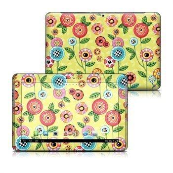 Samsung Galaxy Tab 2 10. 1 P5110 P5100 Button Flowers Skin