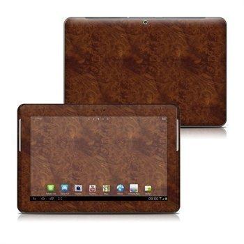 Samsung Galaxy Tab 2 10. 1 P5110 P5100 Dark Burlwood Skin