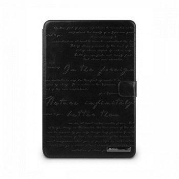Samsung Galaxy Tab 2 10.1 P5100 Zenus Masstige Lettering Diary Nahkakotelo Musta