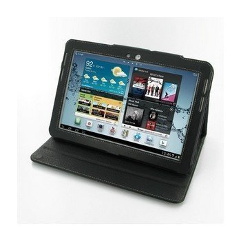 Samsung Galaxy Tab 2 10.1 PDair Leather Case 3BSS2WBX2 Musta