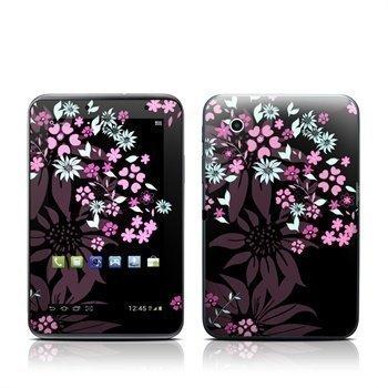 Samsung Galaxy Tab 2 7.0 Dark Flowers Skin