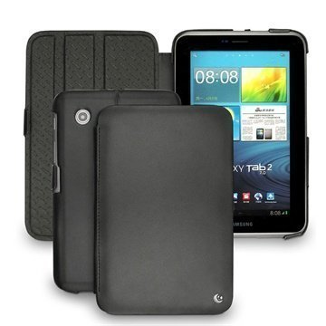 Samsung Galaxy Tab 2 7.0 P3100 P3110 Noreve Tradition Leather Case Black