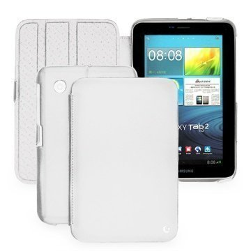 Samsung Galaxy Tab 2 7.0 P3100 P3110 Noreve Tradition Leather Case White