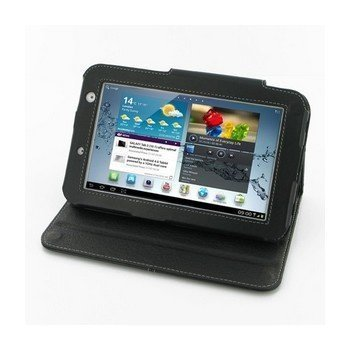 Samsung Galaxy Tab 2 7.0 PDair Leather Case 3BSS27BX1 Musta