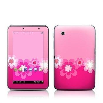 Samsung Galaxy Tab 2 7.0 Retro Pink Flowers Skin