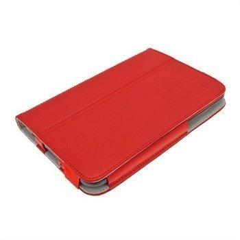 Samsung Galaxy Tab 2 P3100 P3110 iGadgitz Portfolio Leather Case Red