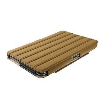 Samsung Galaxy Tab 2 P5100 P5110 iGadgitz ArmourDillo Nahkakotelo Ruskea