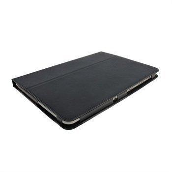 Samsung Galaxy Tab 2 P5100 P5110 iGadgitz Portfolio PU Leather Case Black