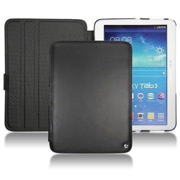 Samsung Galaxy Tab 3 10.1 P5200 P5210 Noreve Tradition Nahkakotelo Musta