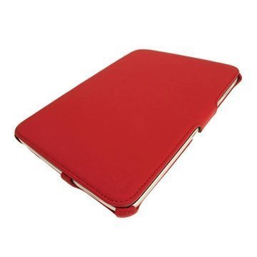 Samsung Galaxy Tab 3 10.1 P5200 P5210 iGadgitz Leather Case Red
