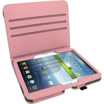 Samsung Galaxy Tab 3 10.1 P5200 P5210 iGadgitz PU Leather Case Pink