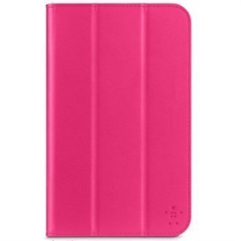Samsung Galaxy Tab 3 7.0 P3200 P3210 Belkin Smooth Tri-fold Kotelo Vaaleanpunainen
