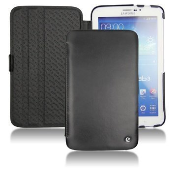 Samsung Galaxy Tab 3 7.0 P3200 P3210 Noreve Tradition Leather Case Black