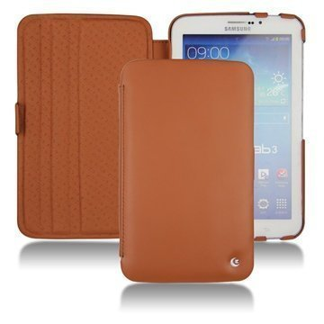 Samsung Galaxy Tab 3 7.0 P3200 P3210 Noreve Tradition Leather Case Brown