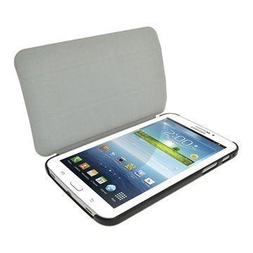 Samsung Galaxy Tab 3 7.0 P3200 P3210 iGadgitz Mate Plus Nahkainen Suojakotelo Vihreä