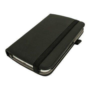Samsung Galaxy Tab 3 7.0 P3200 P3210 iGadgitz PU Nahkakotelo Musta