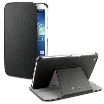 Samsung Galaxy Tab 3 8.0 Muvit Triangle telinekotelo Musta