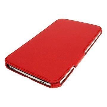 Samsung Galaxy Tab 3 8.0 iGadgitz Leather Case Red